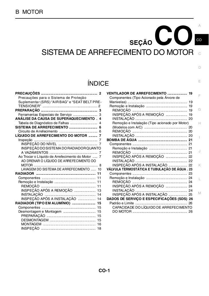SISTEMA DE ARREFECIMENTO DO MOTORB MOTOR                                                                                  ...