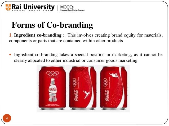 what is co branding Brands are judged by the company they keep these partnerships are innovative because they are fresh, unexpected, and also increase awareness.
