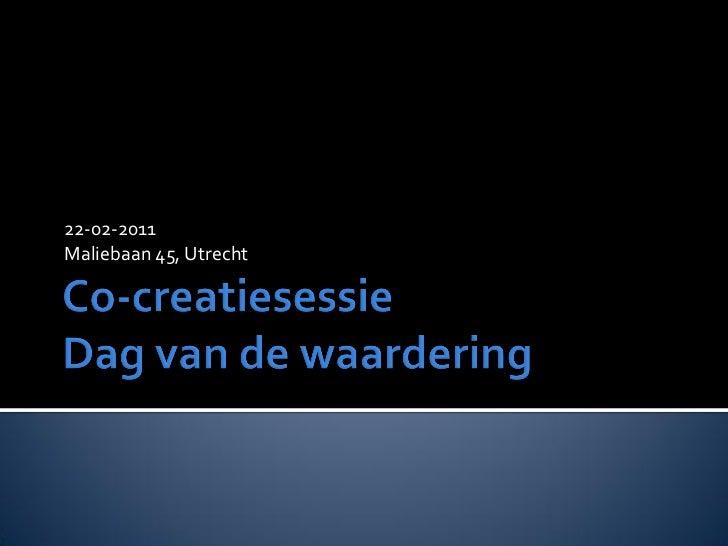 22-02-2011Maliebaan 45, Utrecht