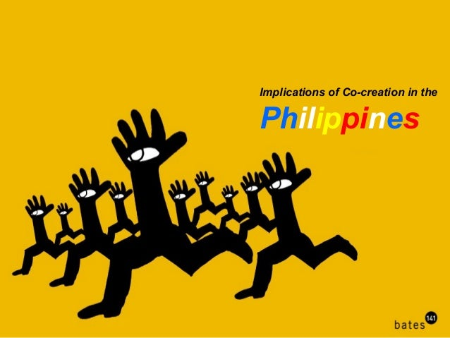 Implications of Co-creation in thePhilippines