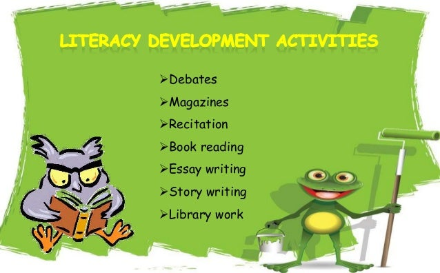 Necessity about Co-curricular fun-based activities for the purpose of some Learner