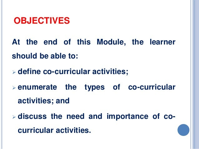 types of co curricular activities Srjhs&el/ ajaykumar ingale (592-594) june-july, 2014 vol i/iv wwwsrjiscom page 592 role of co-curricular activities in student's life.