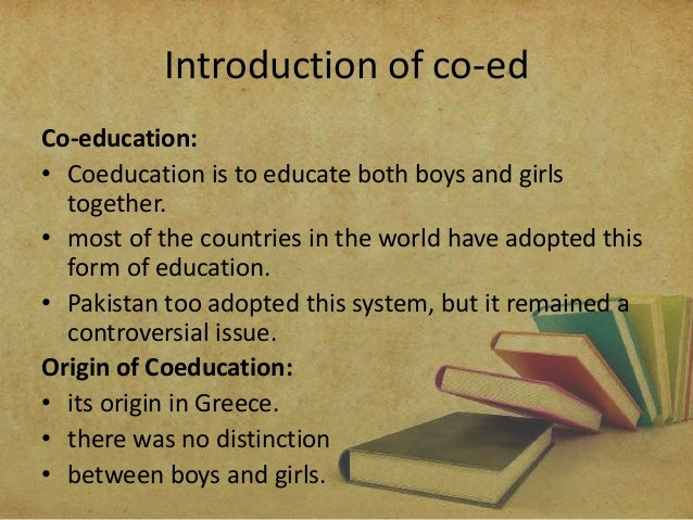 Essays on co education in pakistan