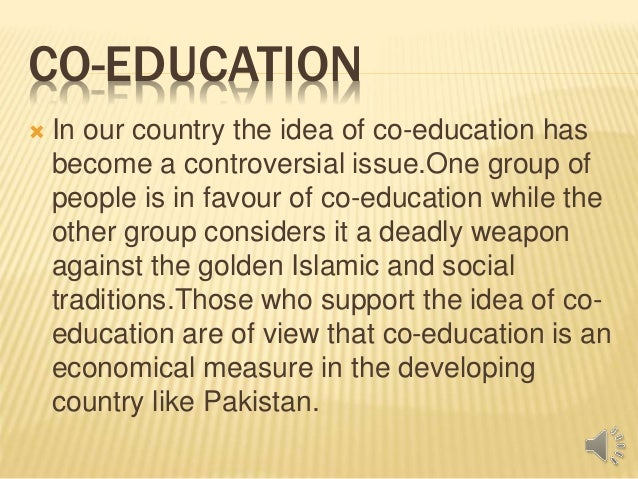 essay on co education in india A custom written essay example on importance of education in the modern world.
