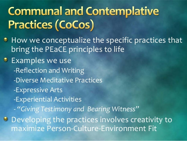 Co Exist For Wellness Communal And Contemplative