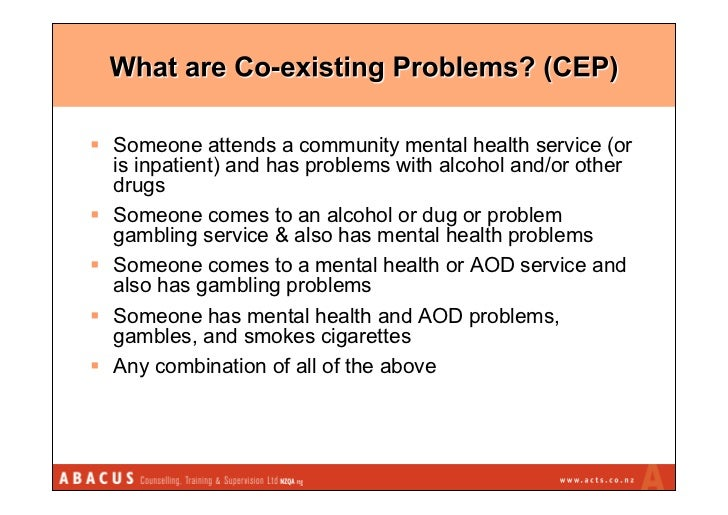 Co Existing Problems Problem Gambling Treatment Asian Practitioners
