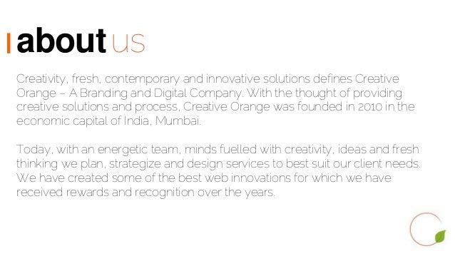 Creative Orange, 360 degree Digital Marketing Agency in Mumbai