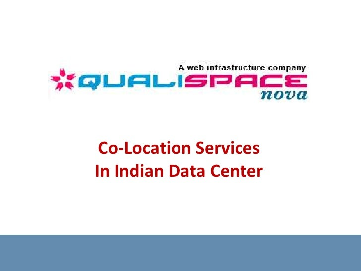 Co-Location Services In Indian Data Center<br />