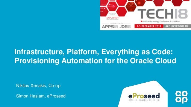 Platform Provisioning Automation for Oracle Cloud