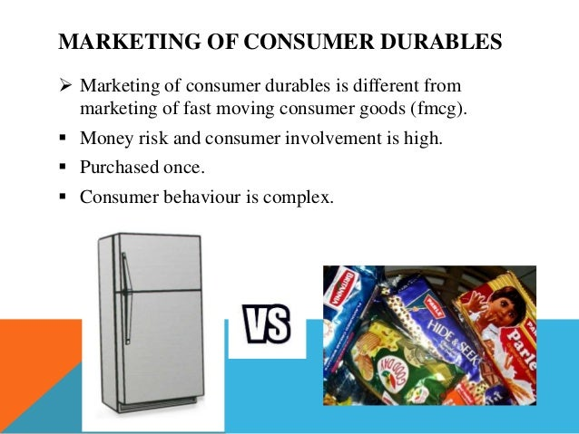 rural marketing of consumer durables • to find out buying patterns of consumer durables in rural marketing.