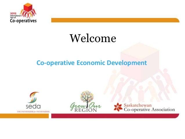 WelcomeCo-operative Economic Development