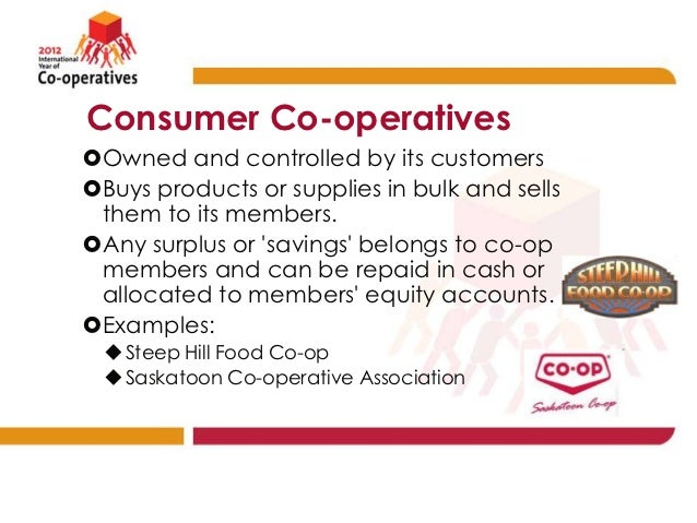 cooperative society examples