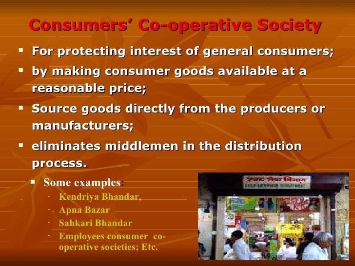 Types of Cooperative Societies