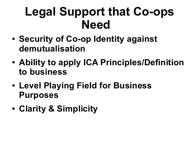 Co op fortnight lect 2013
