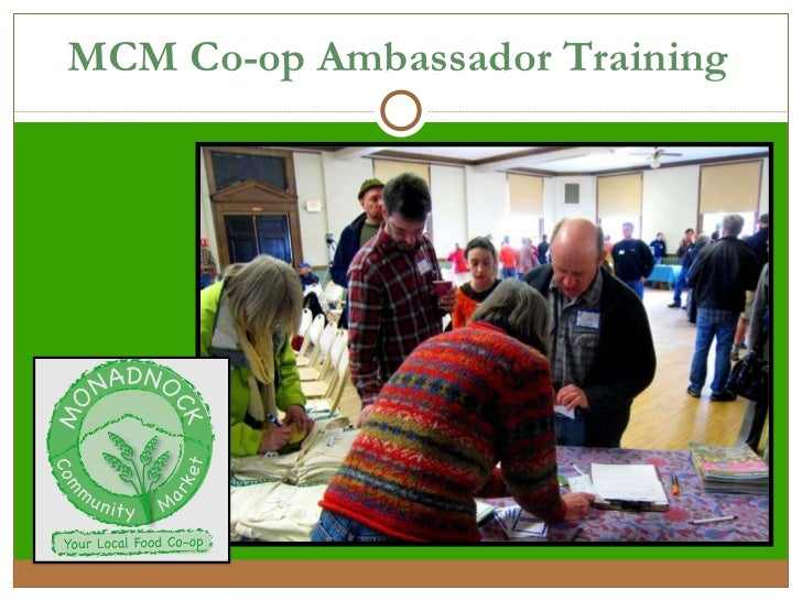 MCM Co-op Ambassador Training