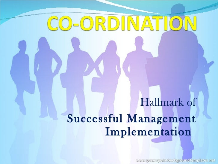 Hallmark of Successful Management Implementation