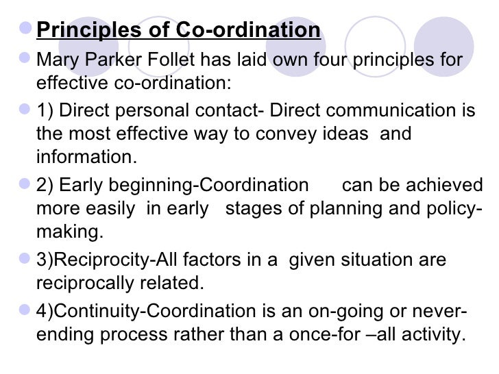 techniques of effective coordination Effective coordination techniques includes direct contact, group meetings,  organizational structure, committees, staff meeting, leadership, communication  etc.