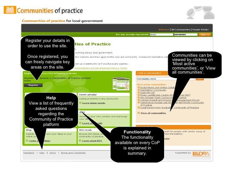 Co P Walkthrough Presentation 2008 Slide 2