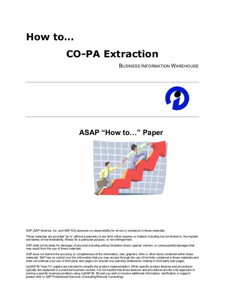 How to…                                CO-PA Extraction                                                                   ...