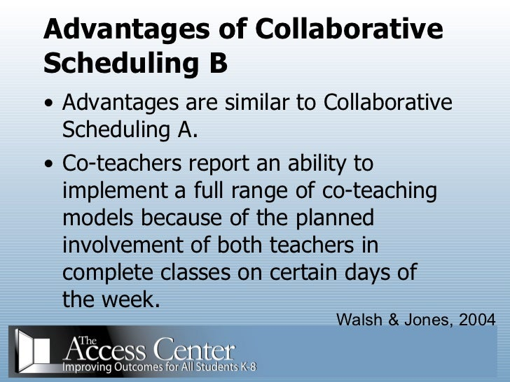 Collaborative Co Teaching Model : Co teaching for teachers