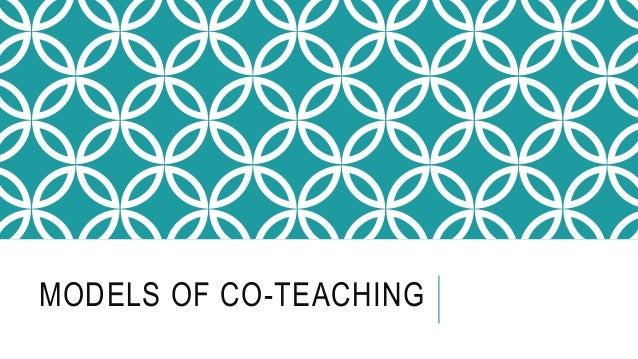 MODELS OF CO-TEACHING