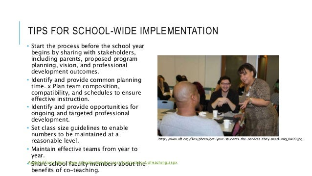 TIPS FOR SCHOOL-WIDE IMPLEMENTATION • Start the process before the school year begins by sharing with stakeholders, includ...