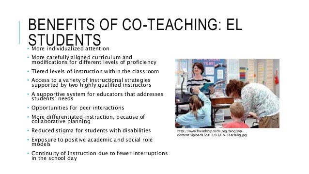 Collaborative Teaching Reaping The Benefits : Co teaching presentation for tesol prek teacher day
