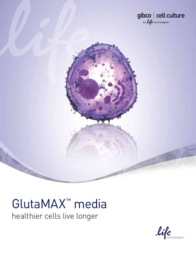 PRODUCT IMAGEGlutaMAX media  ™healthier cells live longer