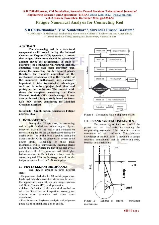 S B Chikalthankar, V M Nandedkar, Surendra Prasad Baratam / International Journal of       Engineering Research and Applic...