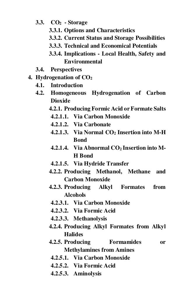 CO2 to fuels and chemicals course material final version