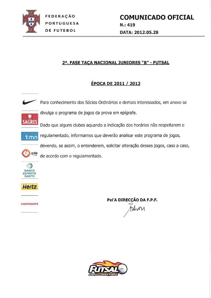 Co419 2 fase_taca_nacional_juniores_b_futsal