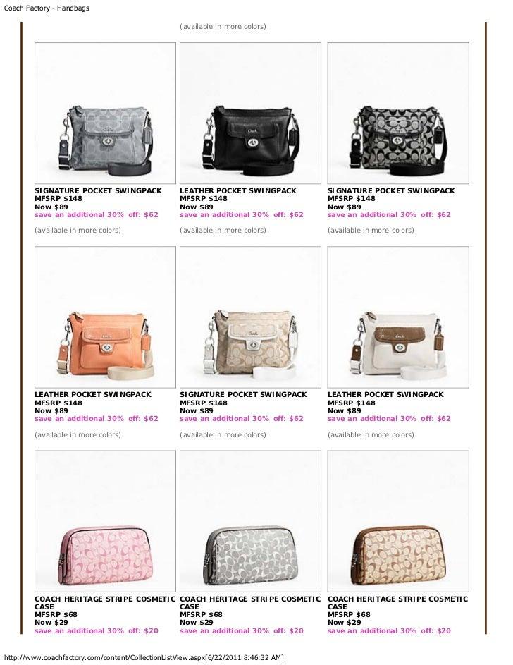 98ff50a853 free shipping coach handbags price list 9f1f6 2cb90