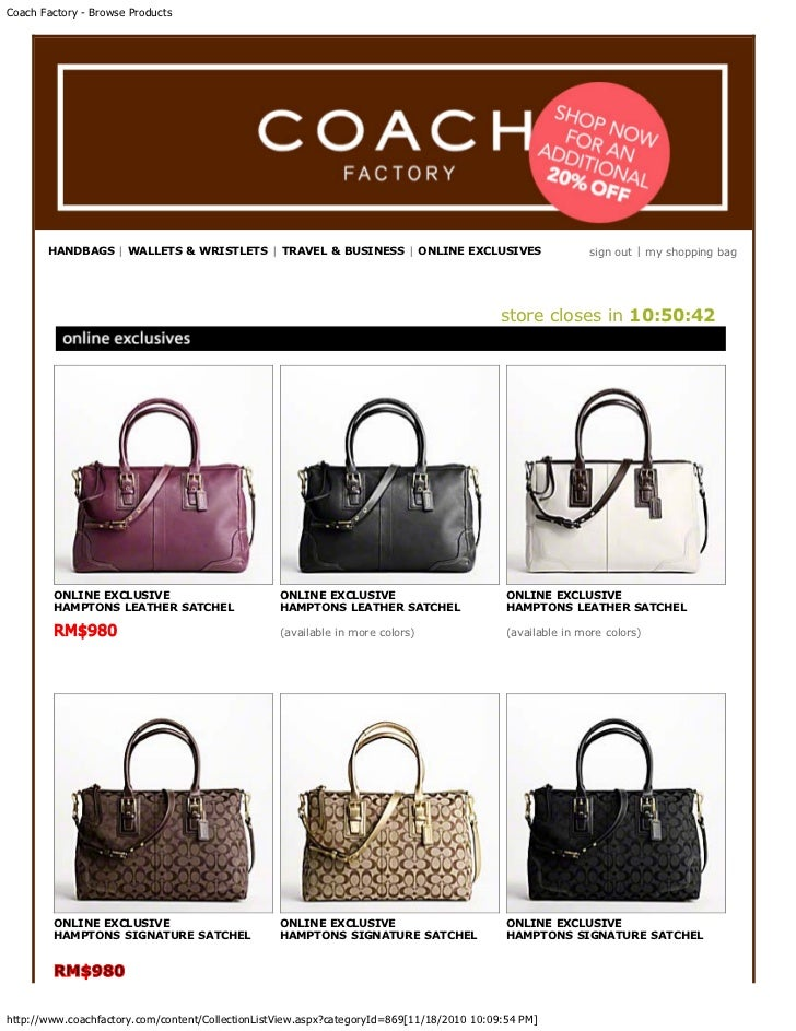 coach factory outlets online sale hzdk  online coach factory