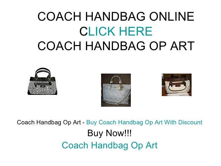 COACH HANDBAG ONLINE CLICK HERE COACH HANDBAG OP ART Coach Handbag Op Art -  Buy Coach Handbag Op Art With Discount Buy No...