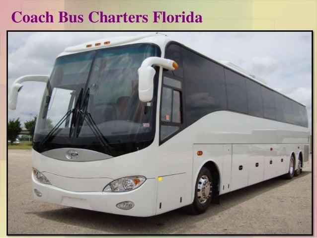 Coach Bus Charters Florida