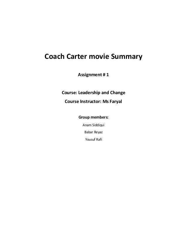 Coach Carter - Part 2