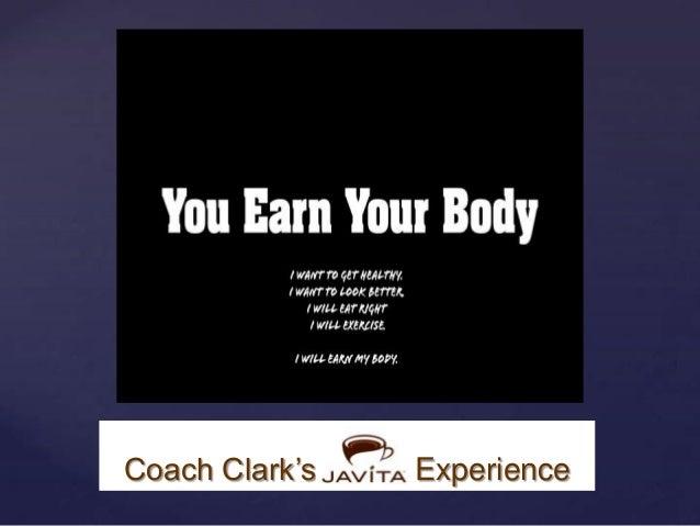 Coach Clark's Javita Experience