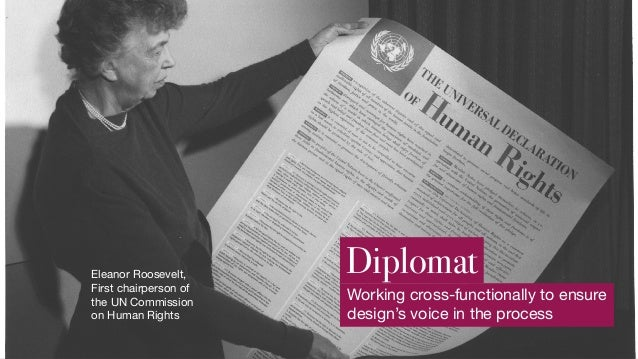 Diplomat Design leadership is a lot more talking than doing