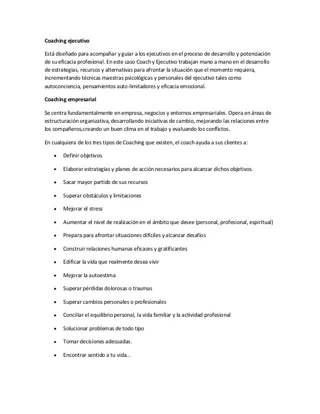 Coach empresarial Slide 2