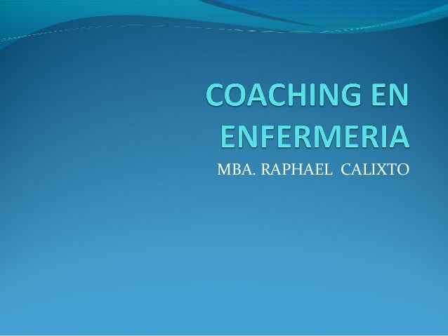 MBA. RAPHAEL CALIXTO