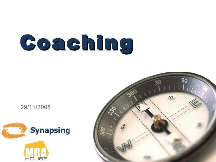 Coaching 29/11/2008
