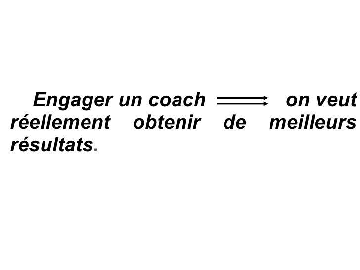 Le Coaching C'est Quoi Slide 3