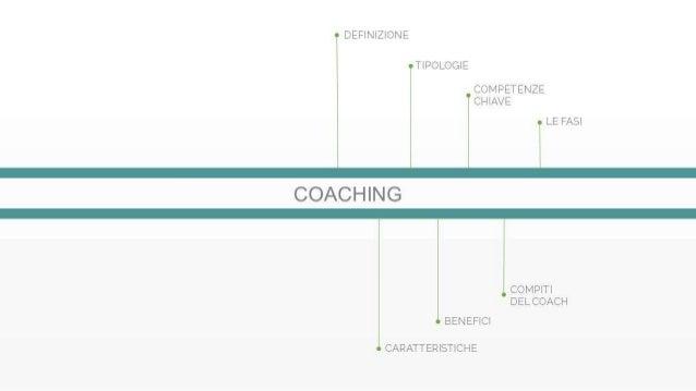 Il Coaching: le Fasi del Percorso e gli Obiettivi Slide 2