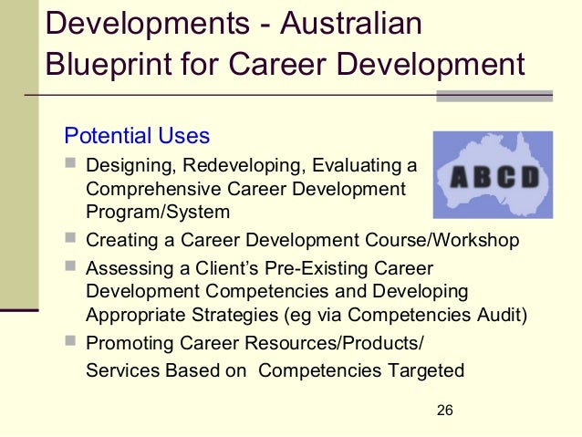 International coach federation 2005 coaching and career developme 26 developments australianblueprint for career development malvernweather Gallery