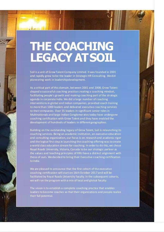 Executive Coaching Brochure