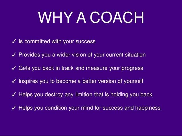 do i need a coach