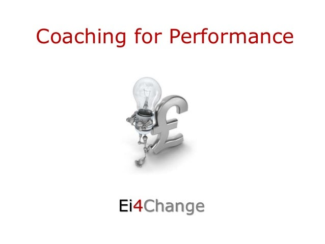 Coaching for Performance Ei4Change