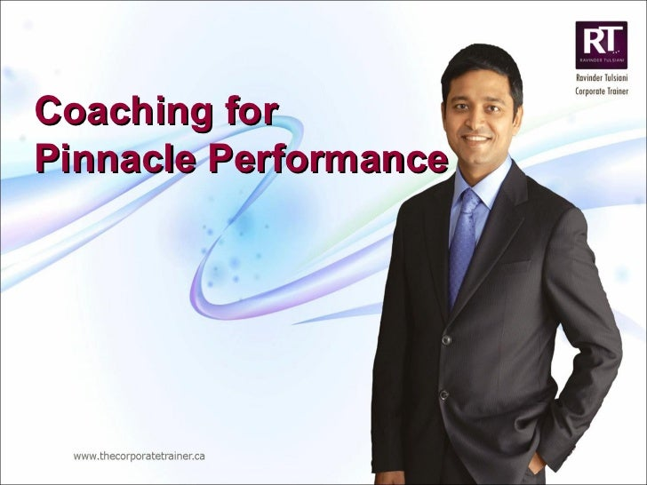 Coaching for  Pinnacle Performance