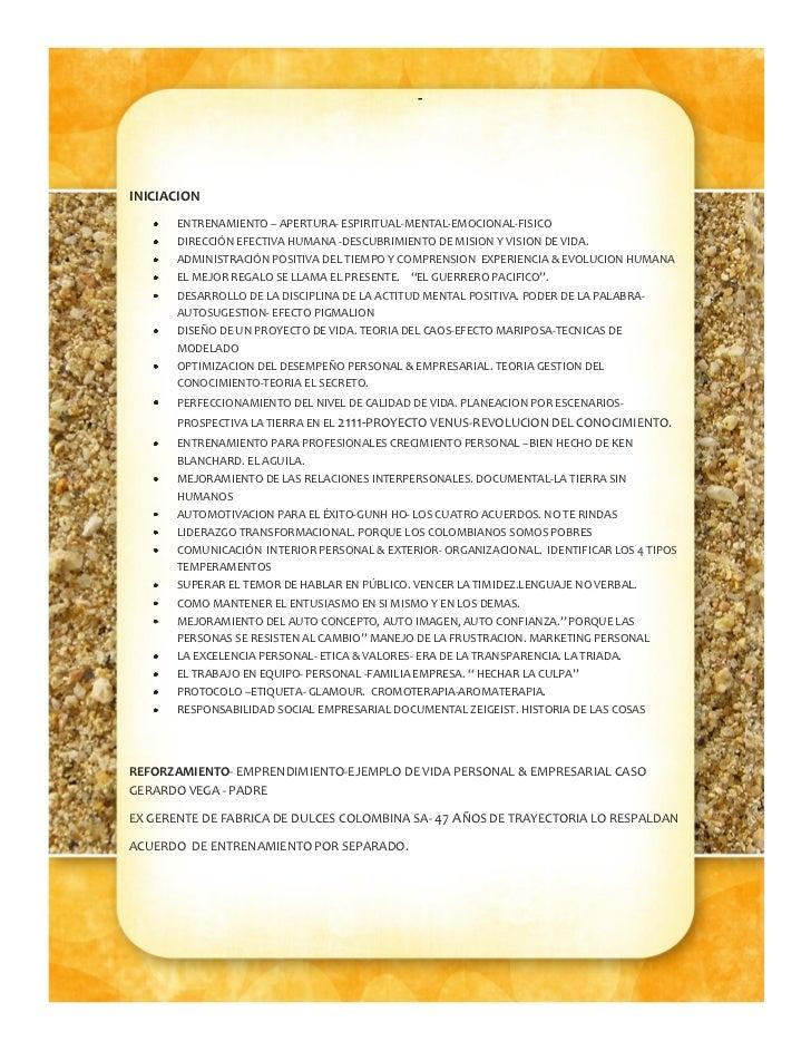 -INICIACION       ENTRENAMIENTO – APERTURA- ESPIRITUAL-MENTAL-EMOCIONAL-FISICO       DIRECCIÓN EFECTIVA HUMANA -DESCUBRIMI...