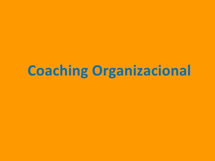 Coaching Organizacional